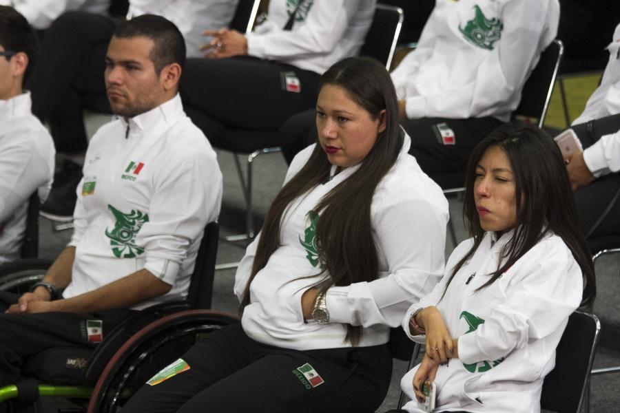 Recursos para atletas paralímpicos se financiará con dólares incautados