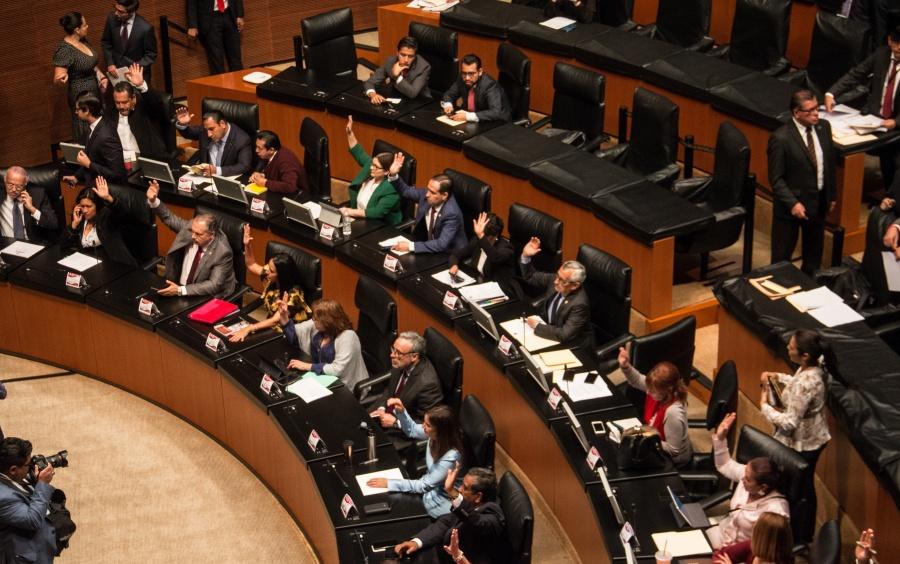 Firmará Senado convenio para reforzar seguridad interna
