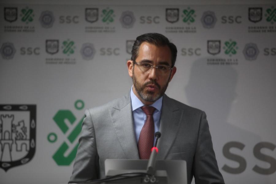 Descarta Jesús Orta existencia de sembradíos de narcotraficantes en la CDMX