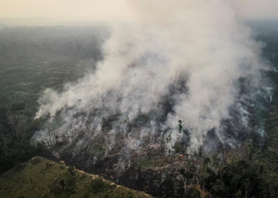 Lluvias no alcanzarían para apagar los incendios en la Amazonia