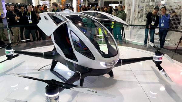 Llega a México el primer dron de pasajeros