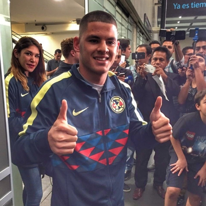 Richard Sánchez llega a México para incorporarse con el América
