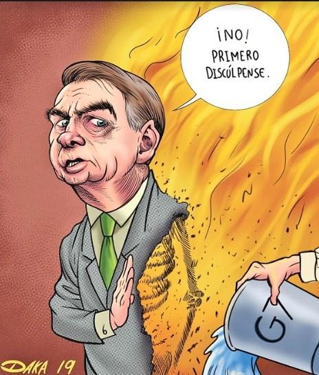 Bolsonaro toma 20 mdd de G7 si él lo administra