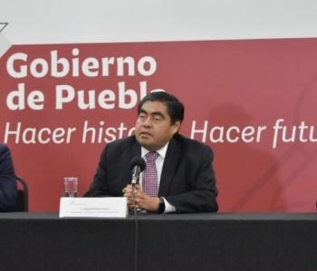 Barbosa descarta que auditorias en Puebla sean actos de venganza