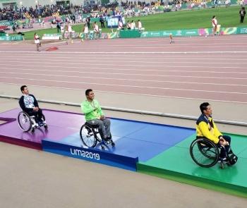 México obtiene oro y plata en atletismo en los Parapanamericanos