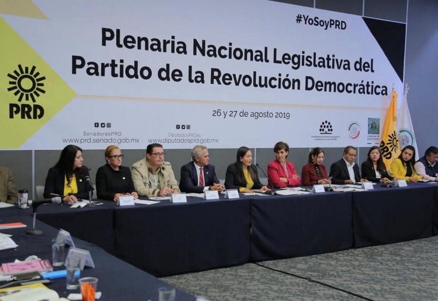 Impulsará PRD en el Senado agenda parlamentaria progresista