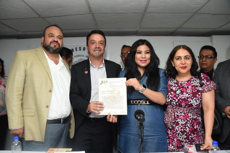 Avanza en CDMX la democratización sindical: Morena