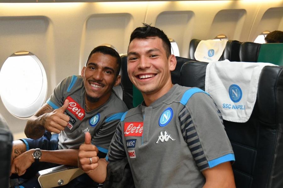 """Chucky"" Lozano, convocado por Napoli para medirse a Juventus"