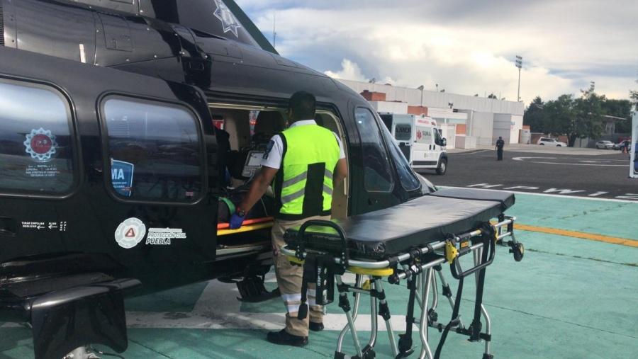 Al servicio de los poblanos los helicópteros propiedad del gobierno estatal