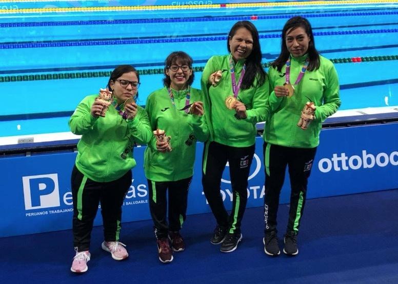 Natación mexicana suma 57 medallas en Parapanamericanos 2019