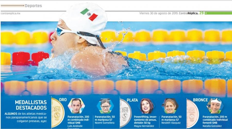 Con 42 oros y 119 medallas México supera su actuación de Toronto