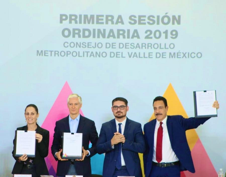 CDMX, Estado de México e Hidalgo presentarán Ley de Coordinación Ciudadana