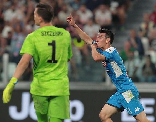 Chucky Lozano se luce ante la Juventus