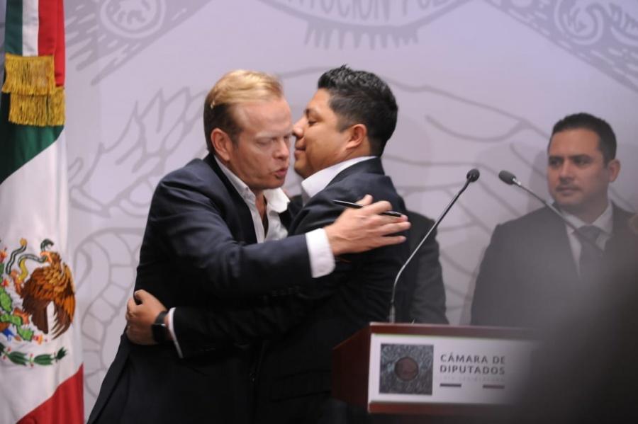 Ricardo Gallardo se suma al PVEM y es destapado como candidato a gobernador para el 2021 en San Luis Potosí