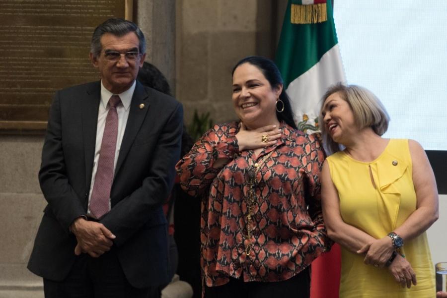 Confirman por unanimidad la candidatura de Mónica Fernández a la presidencia de la Mesa Directiva: Monreal Ávila