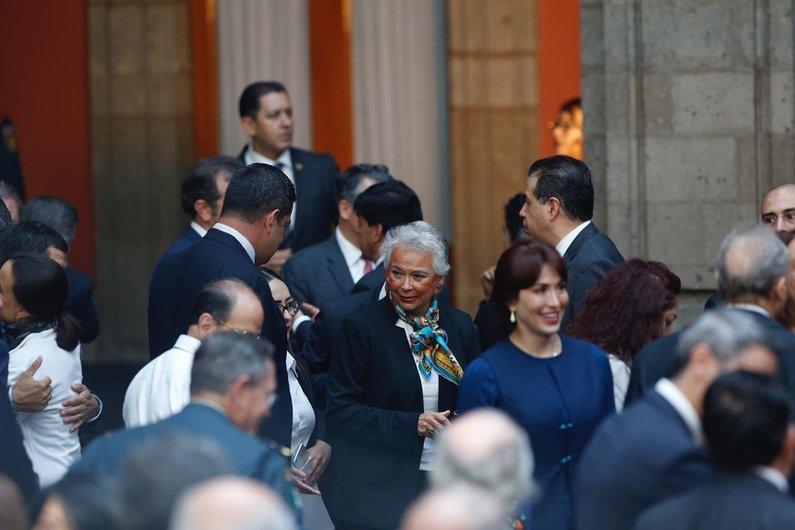 Sánchez Cordero pide cooperación entre los poderes
