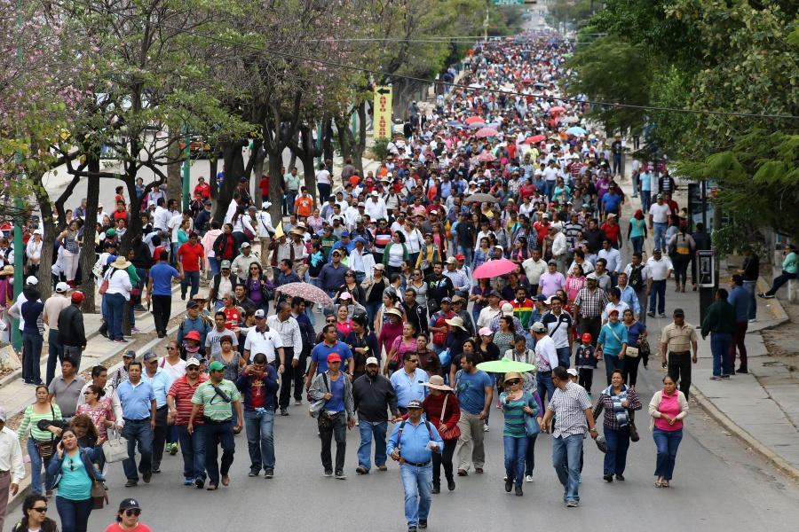 Estas son las marchas previstas por el Primer Informe de Gobierno
