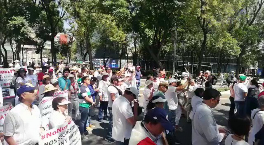 Critican en marcha anti AMLO resultados de Informe de Gobierno