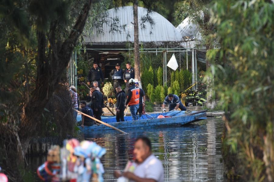 Localizan cadáver del joven que cayó de las trajineras de Xochimilco