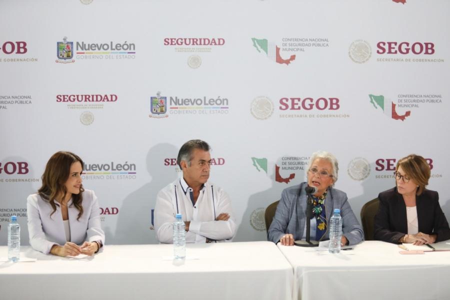 Presenta Clara Luz resultados de Puerta Violeta en Escobedo