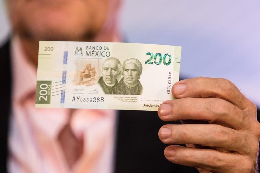Ya circula el nuevo billete de 200 pesos
