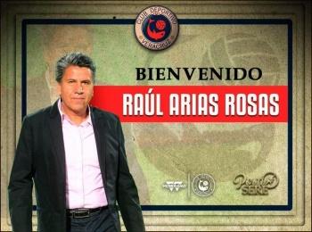 Raúl Arias, nuevo director técnico del Veracruz