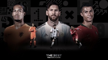Messi, Cristiano Ronaldo y Van Dijk, nominados al The Best