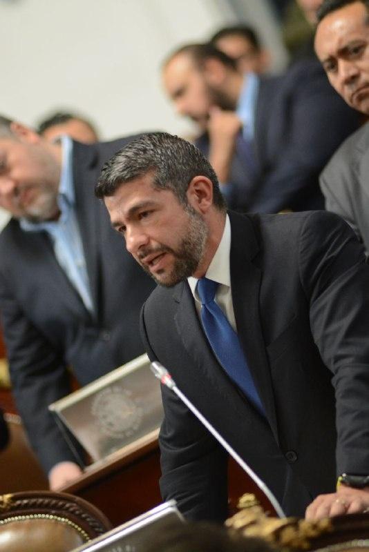 Mauricio Tabe, nuevo presidente de la JUCOPO en el Congreso capitalino