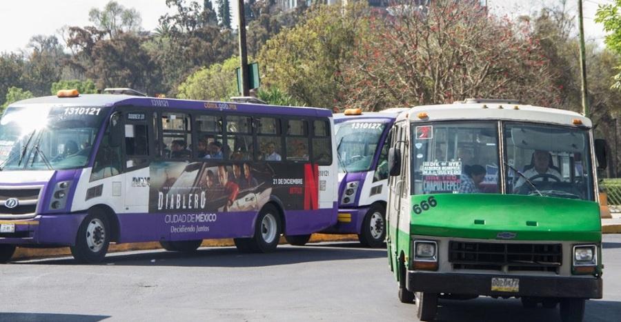 Transportistas alistan protestas en la CDMX