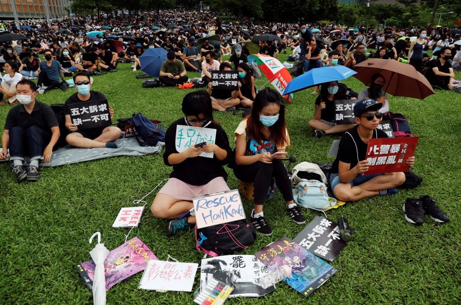 Continúan las protestas estudiantiles en Hong Kong