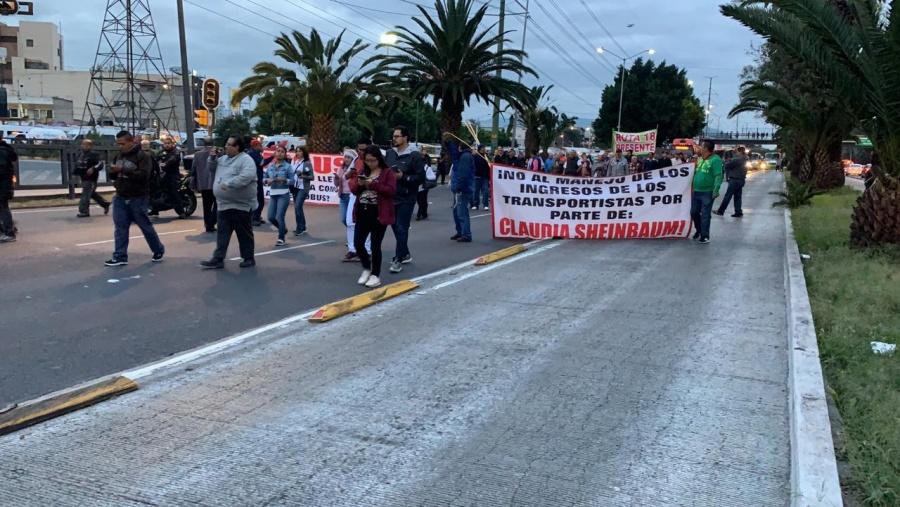 """Piden los transportistas a Sheinbaum """"voluntad de diálogo"""