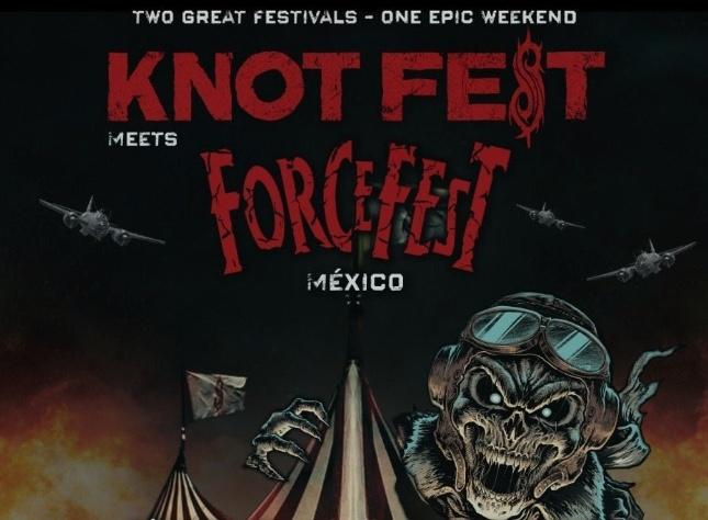 El Knotfest Meets ForceFest revela su cartel oficial