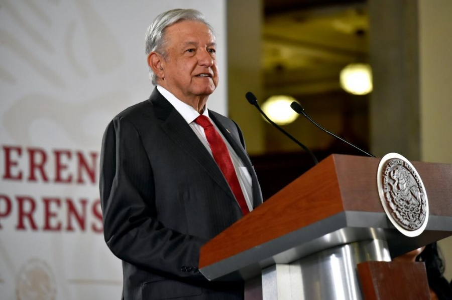 Destaca AMLO llegada de inversión extranjera a México