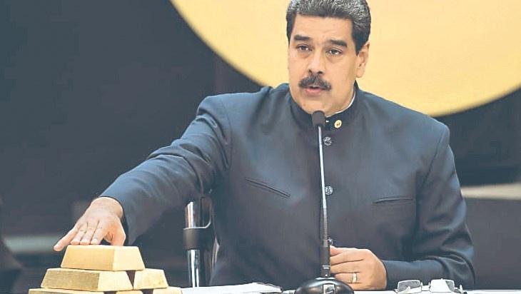 Cae 18.5% valor de oro que vende Maduro a Turquía, los Emiratos...