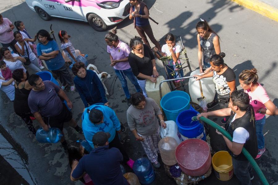 Advierten reducción de agua en CDMX y Edomex