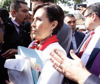 Busca Rosario Robles ampararse contra vinculación a proceso