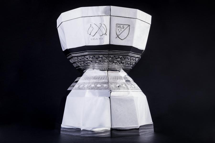 Presentan el trofeo de campeón de la Leagues Cup