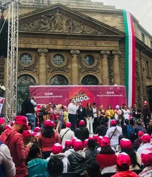 Exigen mujeres se impulse la ley Chambeando Ando en la CDMX