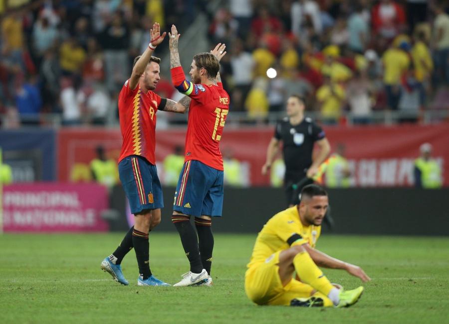 España sufre pero vence a Rumania rumbo a la Euro 2020