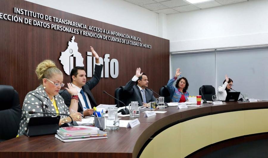 El INFO aprueba informe anual de cumplimiento de datos personales 2018