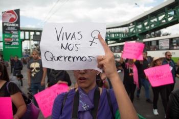 Urgen senadoras a decretar alerta de violencia de género en la CDMX