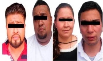 Asegura PGJ a banda de colombianos dedicada a robo de casa habitación