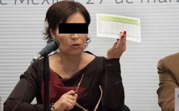 Serán en total tres denuncias de la UIF contra Rosario Robles