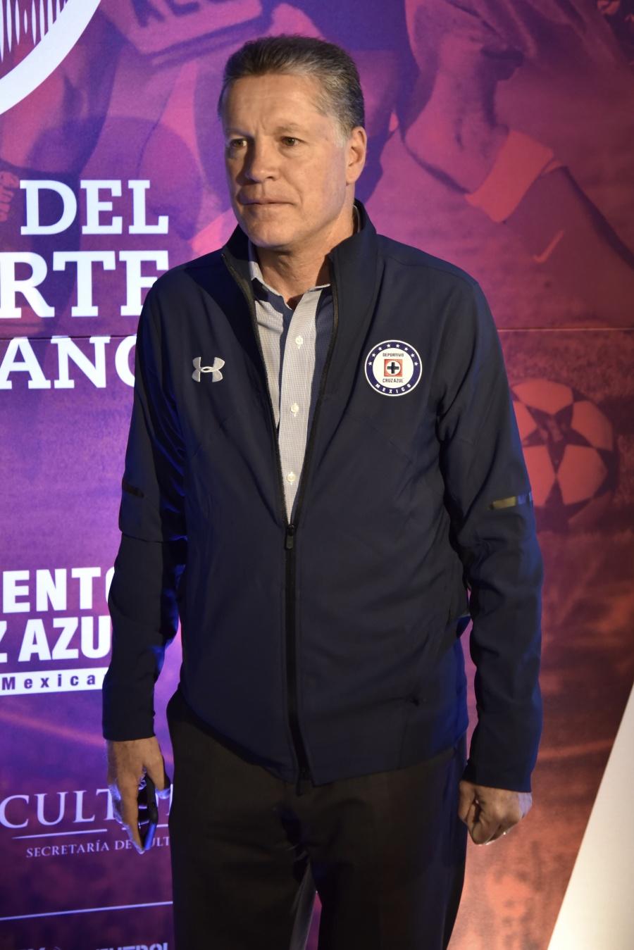 Se despide Ricardo Peláez del Cruz Azul