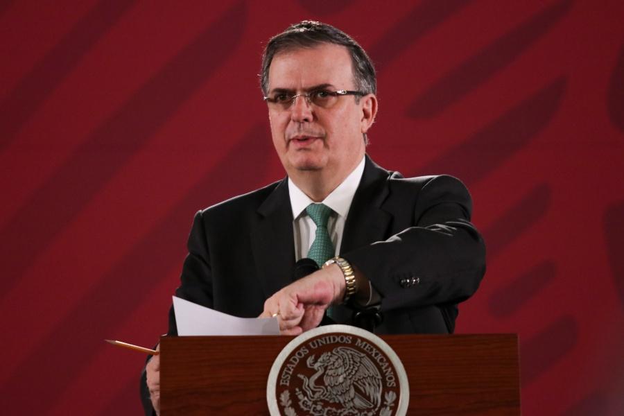 Canciller viajará a EU, rechazará que México sea tercer país seguro