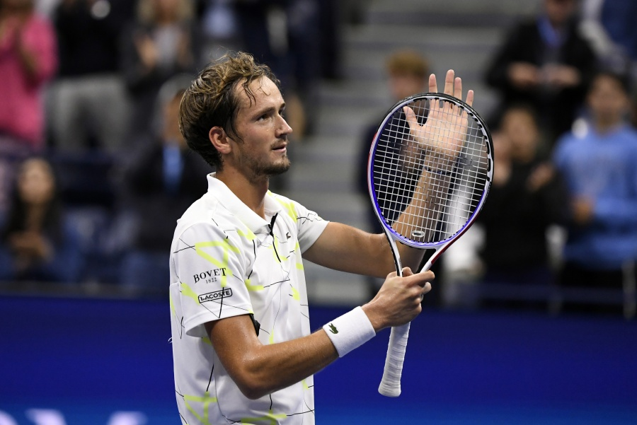 Listo el primer finalista del US Open: Daniil Medvedev