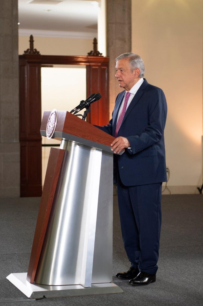 Acuerdo migratorio ha dado buenos resultados, dice AMLO