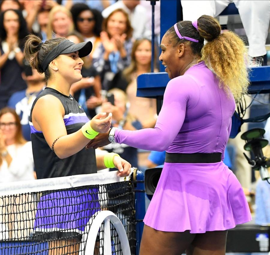 Serena Williams pierde ante Bianca Andreescu la final del Abierto de Estados Unidos
