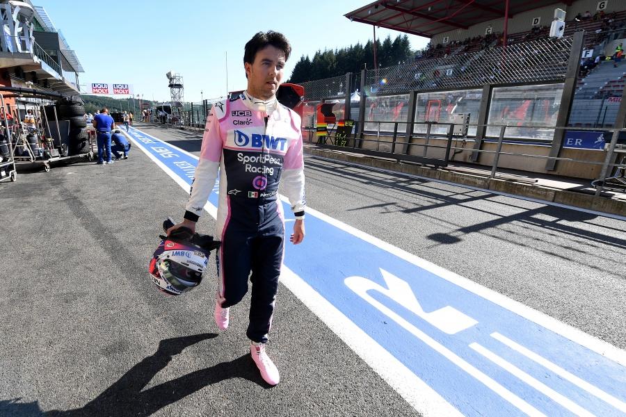 """""""Checo"""" Pérez culmina en el lugar 12 en prácticas del GP de Italia; Vettel en primer sitio"""