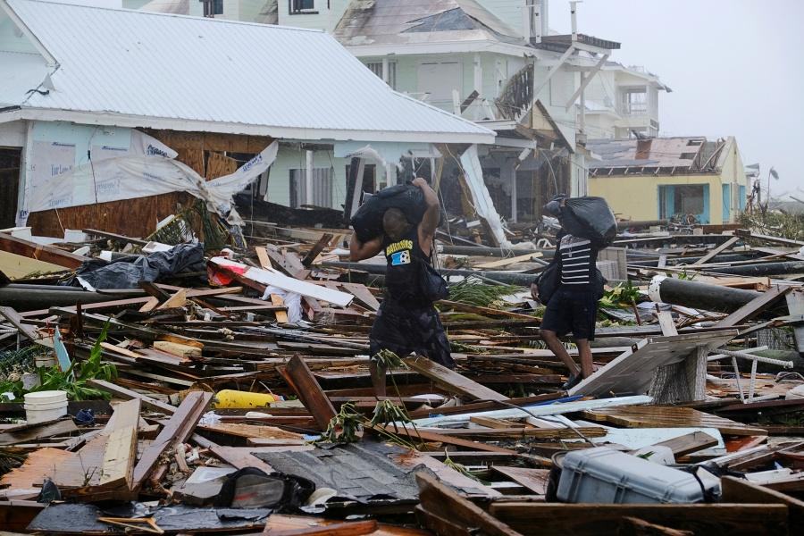 Asciende a 43 la cifra de muertos en Bahamas por paso de Dorian